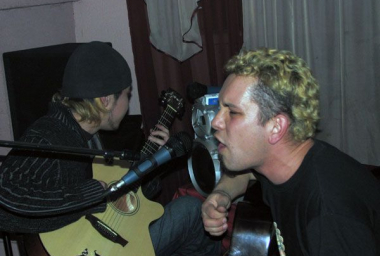 Концерт в Алма-Ате, 28 января 2007 (фото - Иван Алмазов)