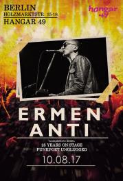 """10 августа - Берлин, клуб """"Hangar 49"""". Ермен Анти, электроакустика. Концерт, посвящёный 25-летию группы. Подробности позже."""