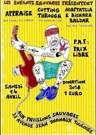 14 апреля АДАПТАЦИЯ на фестивале в Тулузе (Франция). Aux pavillons sauvages, 35 avenue jean dagnaux Toulouse