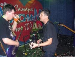 Концерт «Адаптации» в Самаре, 15 марта 2007 (фото - Socrat)