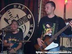 Самара, рок-бар «Подвал», 9 октября 2010 (фото - Е. Климов)