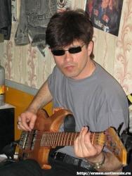 Репетиция в Оренбурге, перед фестивалем «Шурф» в Воронеже, 17.05.2007